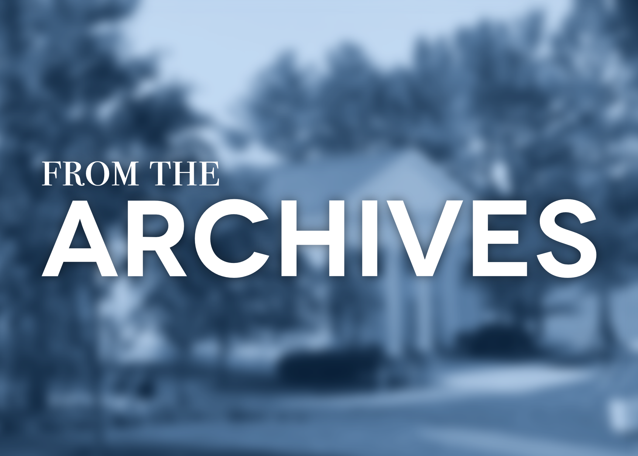 """From the Archives: """"Board of Trustees Picks Dr  Richard I"""