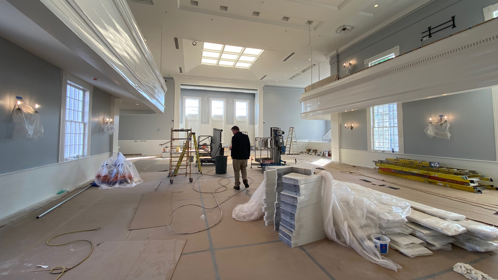 BH Chapel Construction Nears Completion